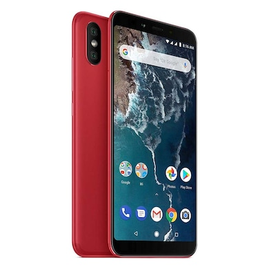 Refurbished Mi A2 (Red, 4GB RAM, 64GB) Price in India