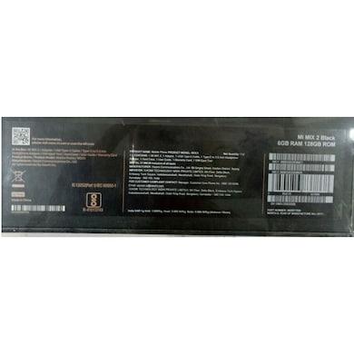 Mi Mix 2 (Black, 6GB RAM, 128GB) Price in India
