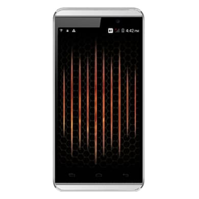 Micromax A104 Canvas Fire 2 (White and Gold, 1GB RAM, 4GB) Price in India