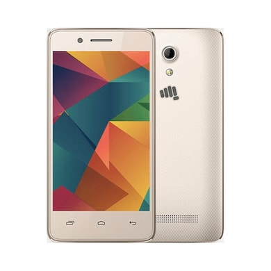 Micromax Bharat 2 4G VoLTE Champagne, 4 GB images, Buy Micromax Bharat 2 4G VoLTE Champagne, 4 GB online at price Rs. 2,949