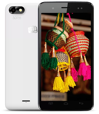Micromax Bolt D321 (White, 512MB RAM, 4GB) Price in India