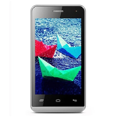 Micromax Bolt Q324 (Silver, 512MB RAM, 4GB) Price in India