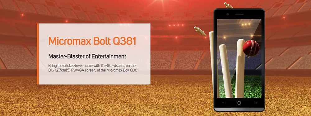 Micromax Bolt Q381 Photo 6