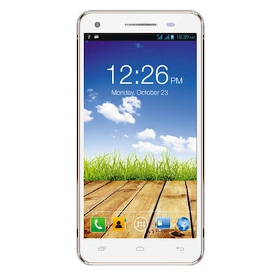 Micromax Canvas 4 Plus A315 (White and Gold, 1GB RAM, 16GB) Price in India
