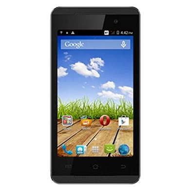 Micromax Canvas Fire A093 (Black, 512MB RAM, 4GB) Price in India