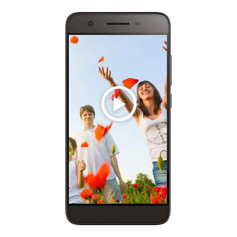 Buy Micromax Canvas Juice 4G Q461 Grey, 8 GB online