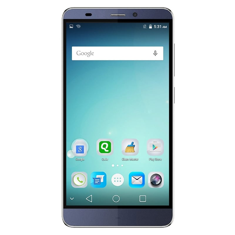 Buy Micromax Canvas Mega 4G Q417 Blue, 16 GB online