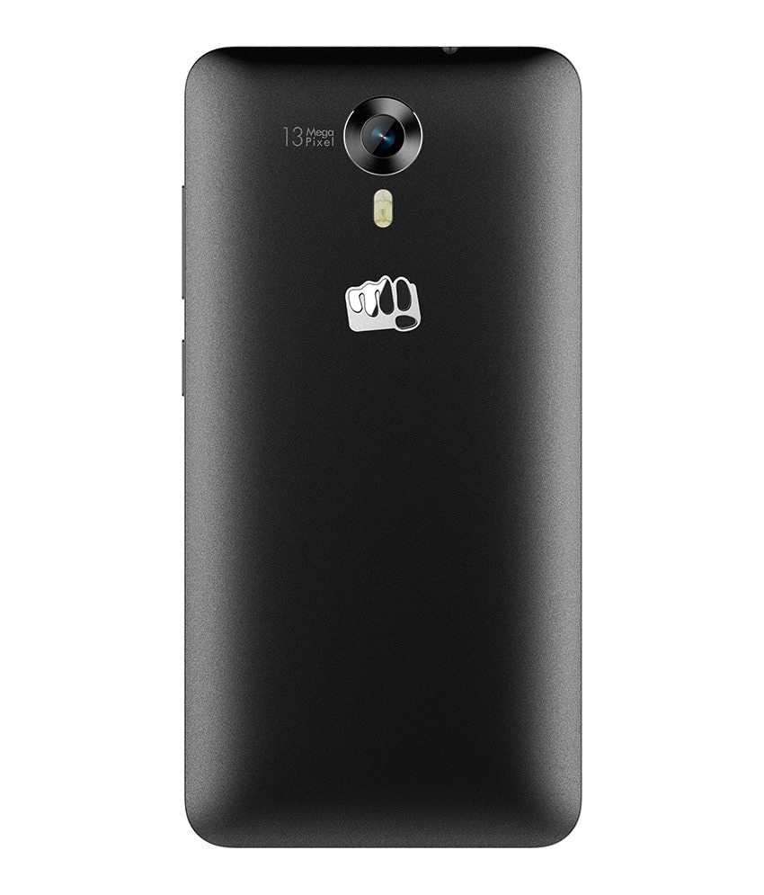 Buy Micromax Canvas Nitro 4G E455 Black, 16 GB online