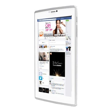 Micromax Canvas P480 3G Calling Tablet White, 8GB Price in India