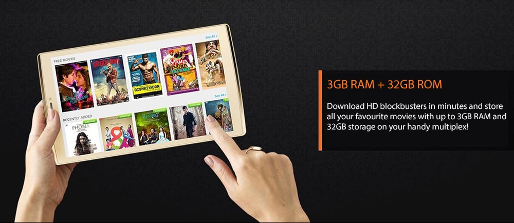 Micromax Canvas Plex 4G VoLTE Tab (3 GB RAM, 32 GB) Photo 10