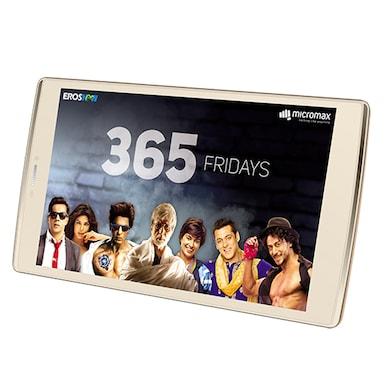 Micromax Canvas Plex 4G VoLTE Tab (3 GB RAM, 32 GB) Champagne Price in India