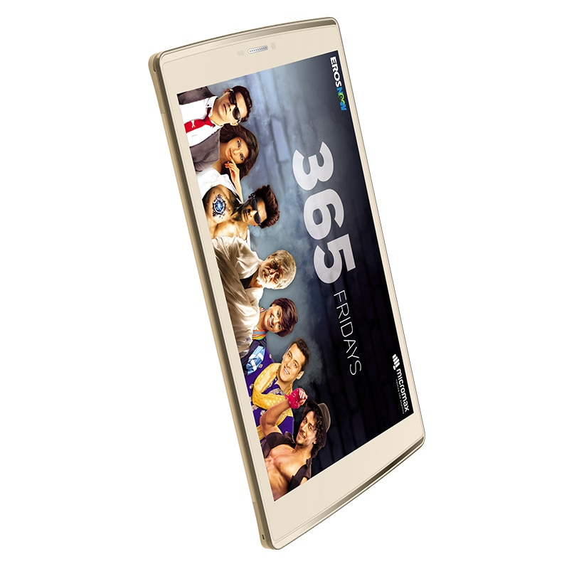 Micromax Canvas Plex 4G VoLTE Tab (3 GB RAM, 32 GB) Champagne images, Buy Micromax Canvas Plex 4G VoLTE Tab (3 GB RAM, 32 GB) Champagne online at price Rs. 12,999