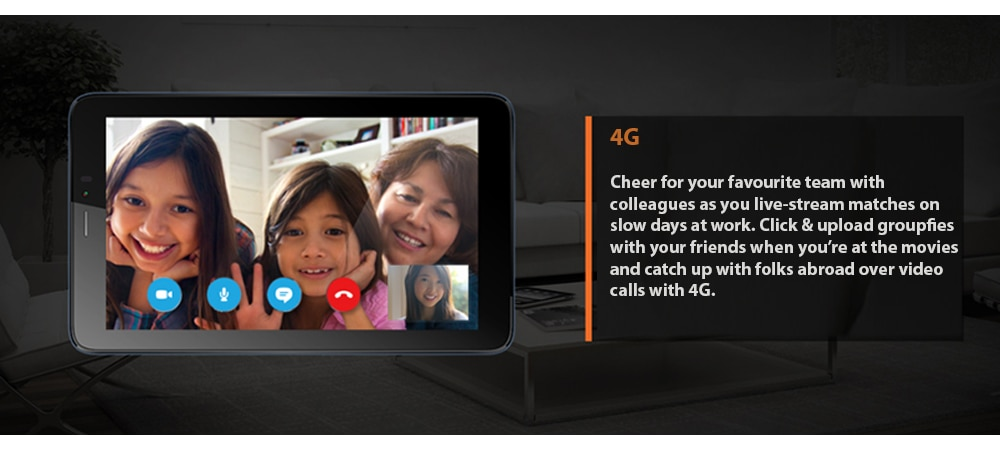 Micromax Canvas Tab P701 With Wi-Fi+4G Voice Calling Photo 7
