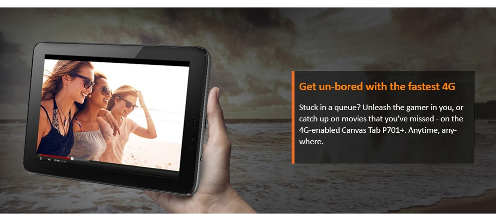 Micromax Canvas Tab P701+ With Wi-Fi+4G Voice Calling Photo 7