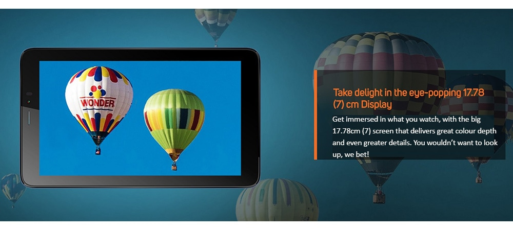 Micromax Canvas Tab P701+ With Wi-Fi+4G Voice Calling Photo 9