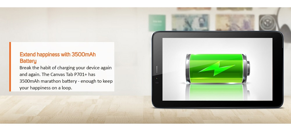 Micromax Canvas Tab P701+ With Wi-Fi+4G Voice Calling Photo 10