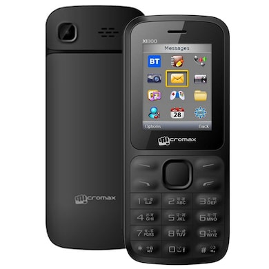 Micromax Joy X1800 Without Charger & Earphone (Black) Price in India