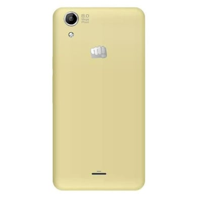 Micromax Canvas Selfie Lens Q345 (White and Champagne, 1GB RAM, 8GB) Price in India
