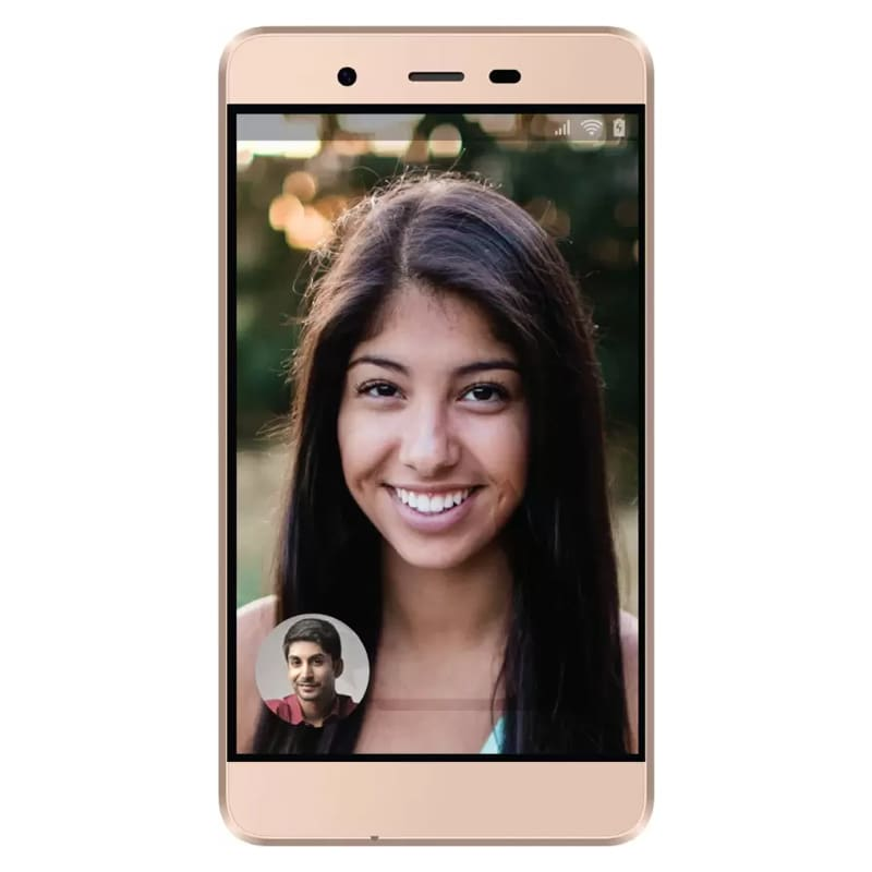 Micromax Vdeo 1 4G VoLTE Champange,8GB images, Buy Micromax Vdeo 1 4G VoLTE Champange,8GB online at price Rs. 3,780