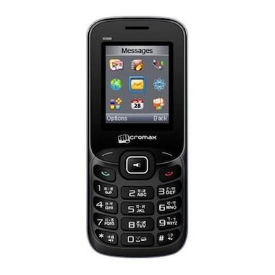 Micromax X088 (Black and Silver, 32MB RAM, 32MB) Price in India