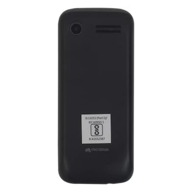 Micromax X551,Dual Sim, 1.77 Inch Display (Black) Price in India