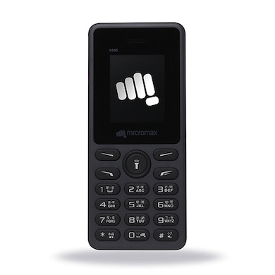 Micromax X595,1.77 Inch Display,1750 mAh Battery,Camera, Bluetooth (Grey) Price in India