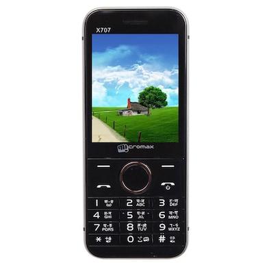 Micromax X707 Bluetooth,2.4 Inch Display,Bluetooth,FM (Grey) Price in India