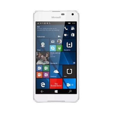 Refurbished Microsoft Lumia 650 (White Light Silver, 1GB RAM, 16GB) Price in India