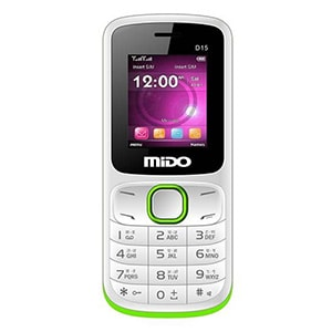 Mido D15 White and Green