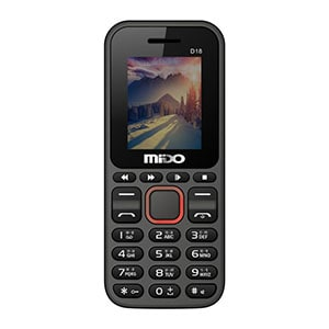 Mido D18 Feature Phone With FM Red
