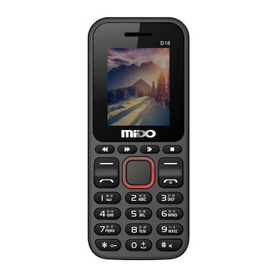 Mido D18 Feature Phone With FM Red images, Buy Mido D18 Feature Phone With FM Red online at price Rs. 590