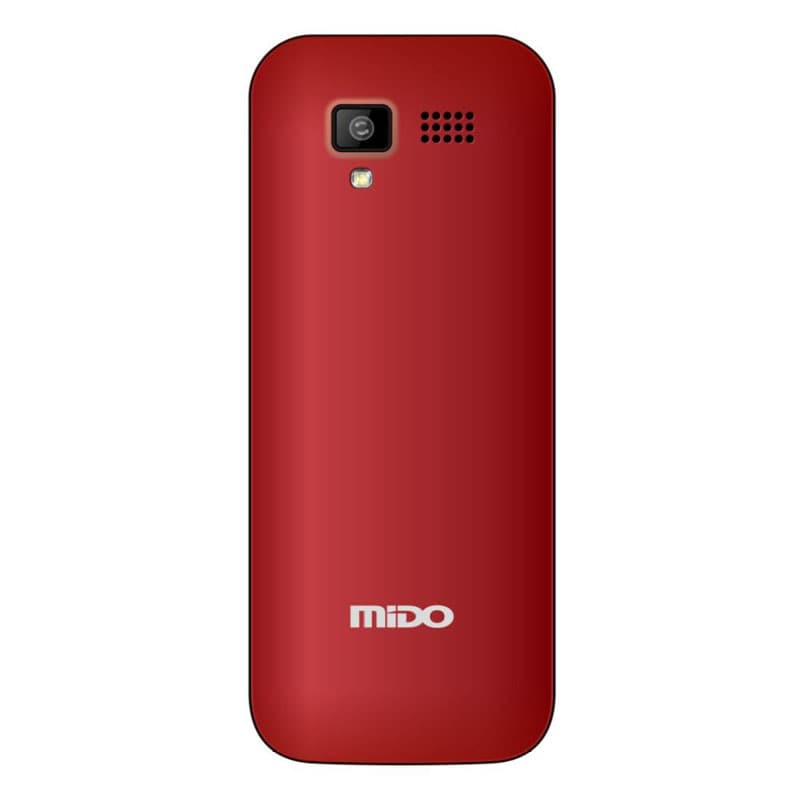Buy Mido D18 Feature Phone With FM Red online