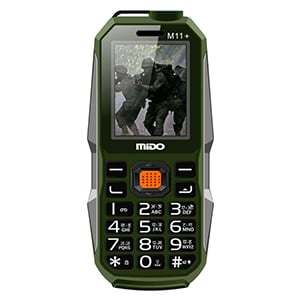 Buy Mido M11+ Dual Sim Feature Phone With SOS Feature Online