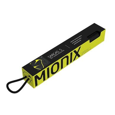 Mionix Sargas Medium Laseredged Microfiber Gaming Mouse Pad Black Price in India