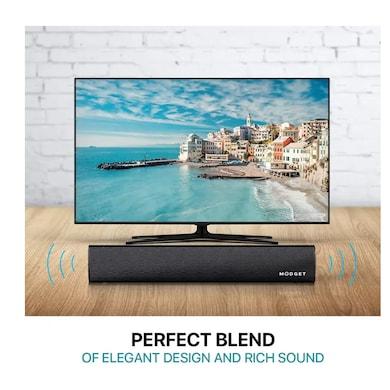 MODGET MOG111BT 20 W Bluetooth Soundbar Black, 2.0 Channel Price in India