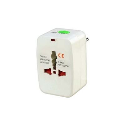 Mograb All In One International Adaptor Travel Plug White Price in India
