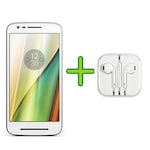 Buy Refurbished Moto E3 Power (2 GB RAM, 16 GB)+Free Earphone with Mic for All Android/iPhones White Online