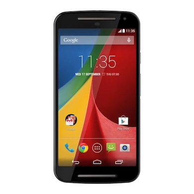 Refurbished Moto G 2nd Gen (Black, 1GB RAM, 16GB) Price in India