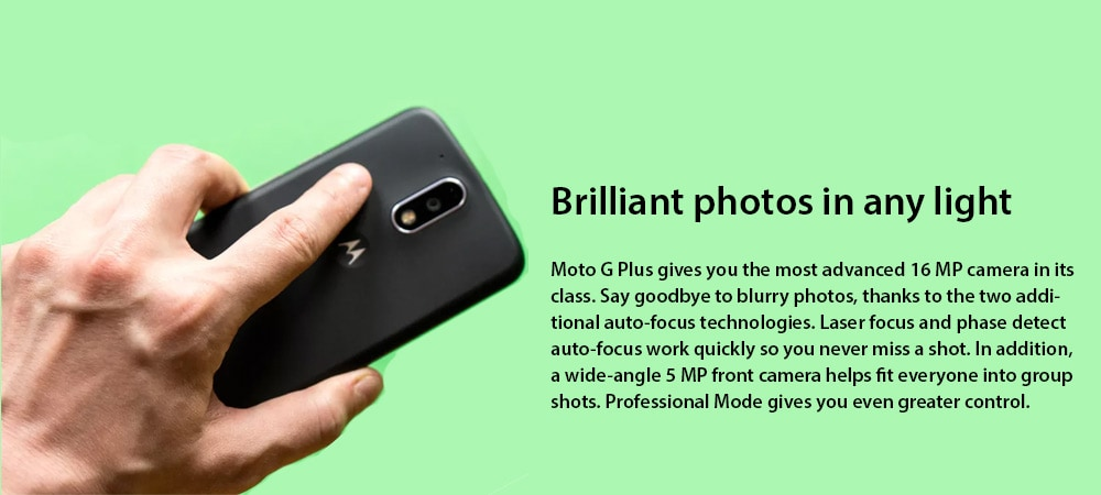 Moto G4 Plus (3 GB RAM, 32GB) Photo 4