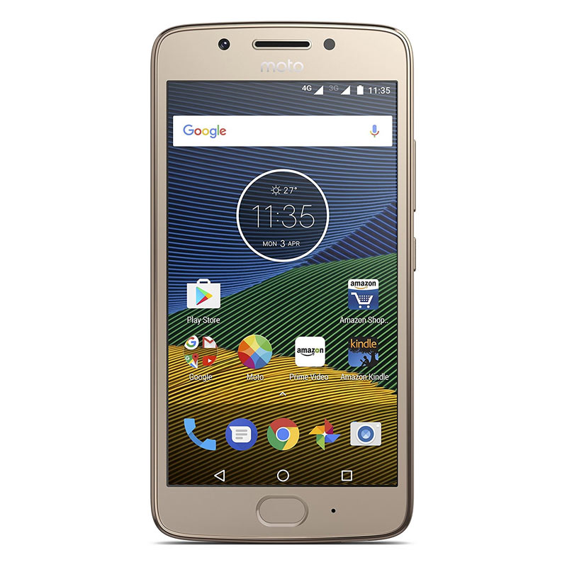 Moto G5 (3 GB RAM, 16 GB) Fine Gold images, Buy Moto G5 (3 GB RAM, 16 GB) Fine Gold online at price Rs. 10,599