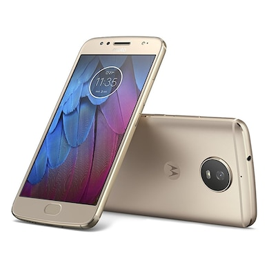 Moto G5s (4GB RAM, 32 GB) Fine Gold images, Buy Moto G5s (4GB RAM, 32 GB) Fine Gold online at price Rs. 9,499
