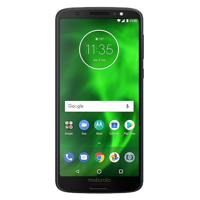 Refurbished Moto G6 (Black, 3GB RAM, 32GB) Price in India