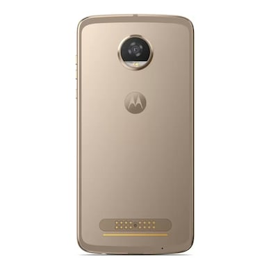 Refurbished Moto Z2 Play (Fine Gold, 4GB RAM, 64GB) Price in India