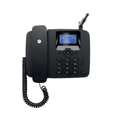 Motorola FW200L Fixed Wireless GSM Landline Phone (Black) Price in India