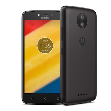 Motorola Moto C 4G (Starry Black, 1GB RAM, 16GB) Price in India