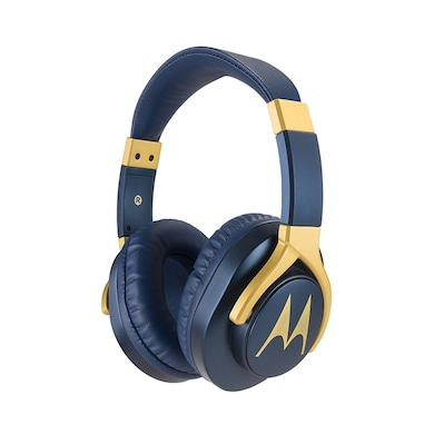 Motorola Pulse 3 Max Wired Headset with Mic Blue Price in India
