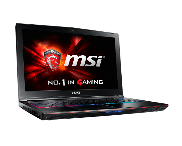 MSI GE62 2QF Apache Pro Notebook (Core i7 5th Gen/8 GB/1 TB/Win 10/3 GB Graphics) (15.6 inches, Black) Price in India
