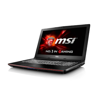 MSI GP62 6QE Leopard Pro 15.6 Inch Laptop (Core i7 6th Gen/8GB/1TB/DOS/2GB Graphics) Black Price in India