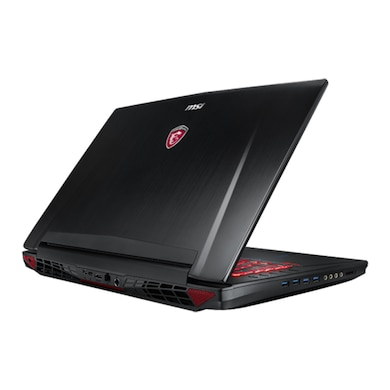 MSI GT72 6QE Dominator Pro G 17.3 Inch Laptop (Core i7 6th Gen/16GB/1TB/128GB SSD/Win 10/4GB Graphic Black Price in India