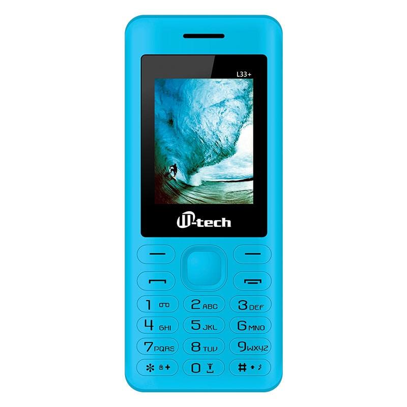 Mtech L33 Plus Dual Sim Feature Phone Blue images, Buy Mtech L33 Plus Dual Sim Feature Phone Blue online at price Rs. 949